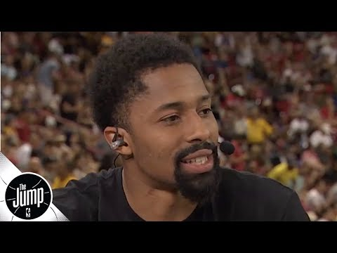 Video: Spencer Dinwiddie talks KD-Kyrie to the Nets, flames Knicks fans   The Jump