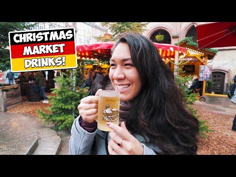 American Girlfriend Tries 9 German Winter & Christmas Drinks