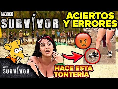 Survivor México capitulo 1 Aciertos y Errores, estreno