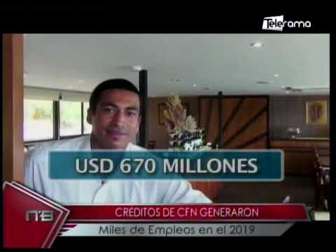 Créditos de CFN generaron miles de empleos en el 2019