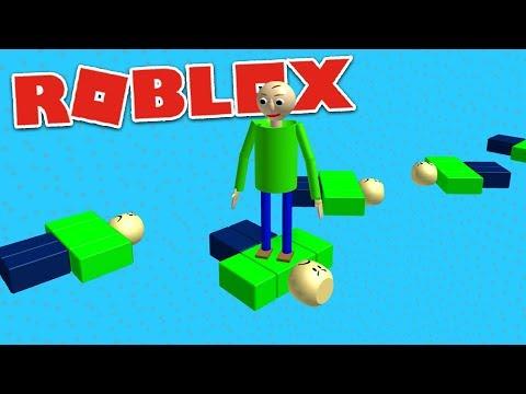 PLAY AS BALDI OBBY!  Roblox Baldi's Basics Gameplay