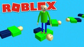 Video PLAY AS BALDI OBBY! | Roblox Baldi's Basics Gameplay MP3, 3GP, MP4, WEBM, AVI, FLV Oktober 2018