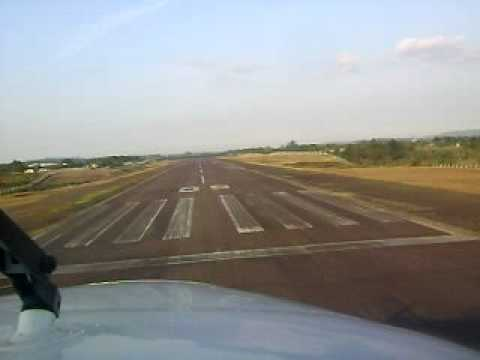 Pouso em Criciuma King Air 350 PRXAA
