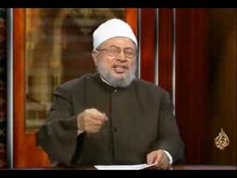 """رأي الشيخ القرضاوي في """"فريضة"""" الحجاب"""