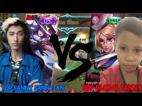 GUE VS TOP GLOBAL Fanny! BOCAH SD BAYANGKAN-_-V - Mobile Legend Indonesia