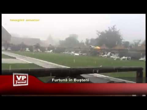 Furtună în Bușteni