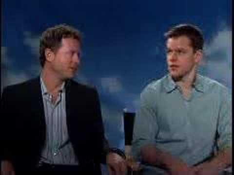 Matt Damon & Greg Kinnear for 'Stuck on You'