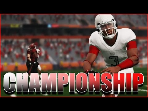 T.D. LIVE STREAMS THE JUCO CHAMPIONSHIP - DOES A.D. FOLD UNDER PRESSURE??? NCAA FOOTBALL 14 RTG (видео)