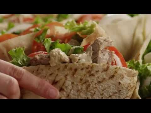 shawarma - Get the recipe @ http://allrecipes.com/recipe/chicken-shawarma/detail.aspx Watch how to make a flavorful Lebanese chicken sandwich. You'll create a simple yo...