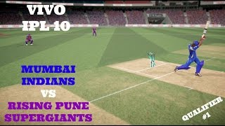 QUALIFIER 1: MUMBAI INDIANS VS RISING PUNE SUPERGIANTSWho will emerge as winner in this IPL CLASH ? Watch this Video !!Comment below who is your favourite IPL team.Thanking you all for the Wonderful support for this Series !!Leave a like if you Enjoyed this video.LIKE AND SUPPORT GUYS
