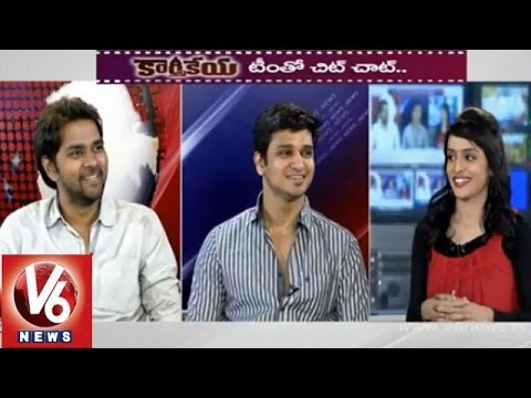 Director! - Watch Tollywood young Actor Nikhil Siddharth and Director Chandhu Mondeti speak about their latest movie Karthikeya in V6 special Chit Chat. Exclusively on V6. Nikhil and Chandhu answers the...