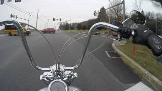 7. 2005 Harley Davidson Wide Glide(apes) Test Ride: Srkcycles.com