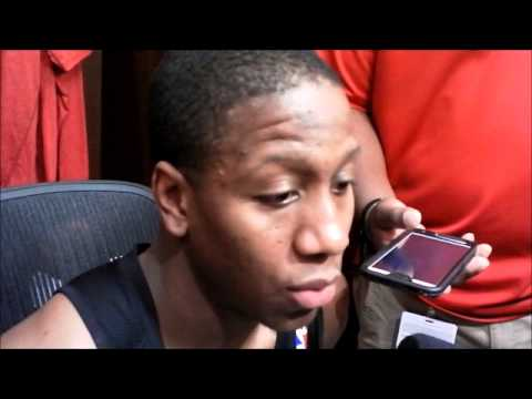 Isaiah Canaan after scoring career-high 15 against Nuggets