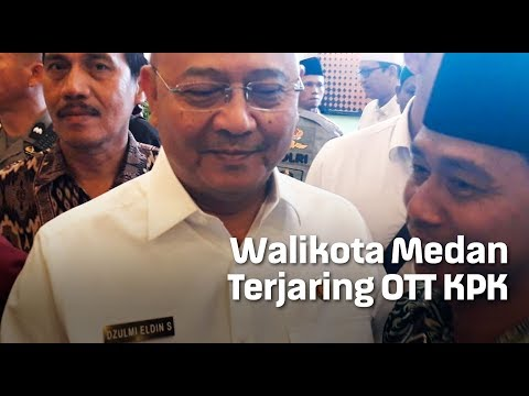 Walikota Medan Terjaring OTT KPK