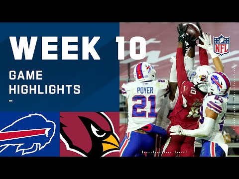 Bills vs. Cardinals Week 10 Highlights   NFL 2020