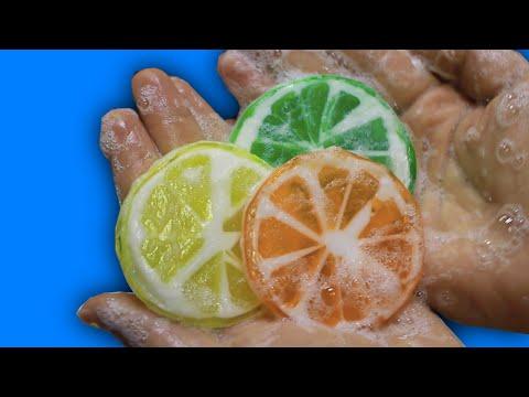 Limon Sabun Nasıl Yapılır? DIY