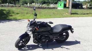 9. My New 2014 Honda CTX700n Walkaround