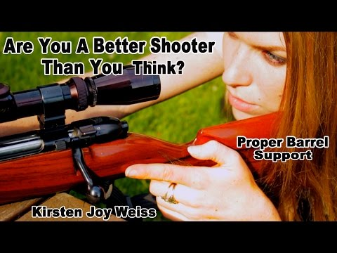 Are You A Better Shooter Than You Think? Proper Barrel Support | Pro Shooting Tips #4