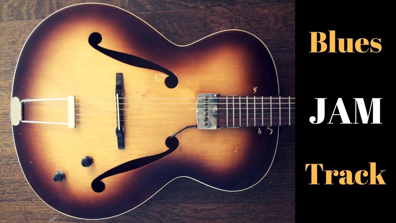 Acoustic Delta Blues | Slide Guitar Backing Jam Track (E)