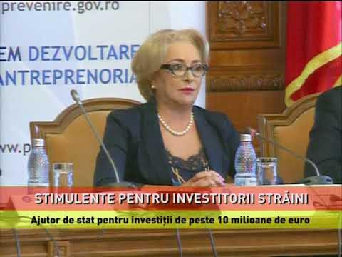 Schemă de ajutor de stat pentru investiții străine