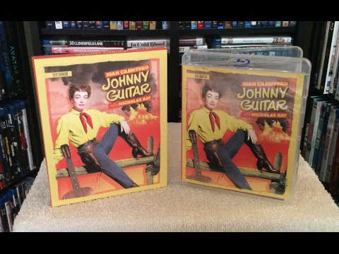 Johnny Guitar: Olive Signature 4K Restoration BLU RAY UNBOXING And Review