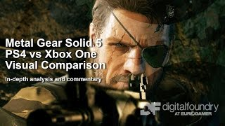 Metal Gear Solid 5 PS4 vs Xbox One Graphics Comparison