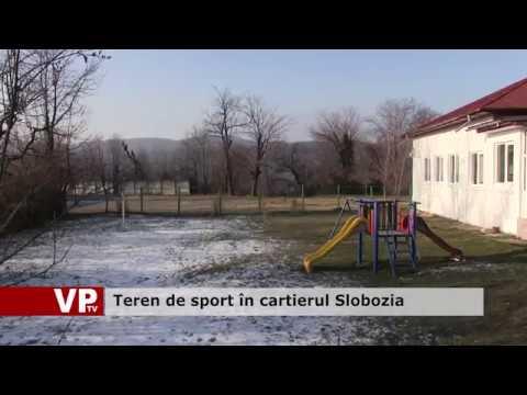 Teren de sport în cartierul Slobozia
