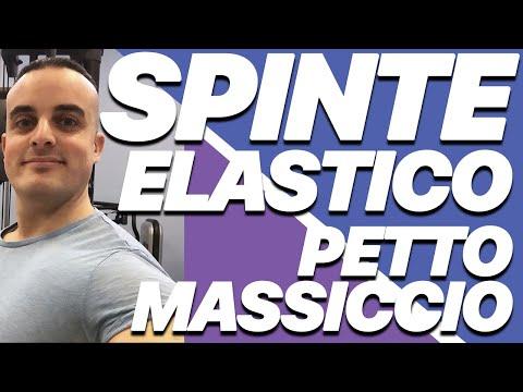 Esercizi Pettorali: Spinte con Elastico