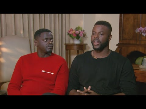 'Black Panther': Winston Duke and Daniel Kaluuya (FULL INTERVIEW)