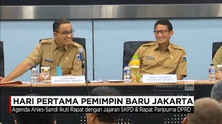 Video Hari Pertama Pemimpin Baru Jakarta - Gubernur Anies Baswedan MP3, 3GP, MP4, WEBM, AVI, FLV Oktober 2017