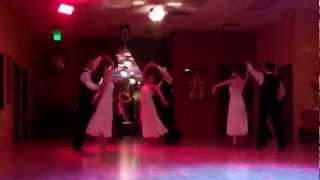 Viennese Waltz Formation at anniversary party