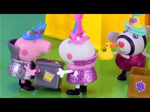 Peppa Pig English  What's inside Peppa's Secret Surprise Box?  NEW 4K