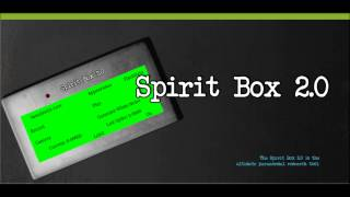 Spirit Box 2.0 EMF EVP GHOST YouTube video