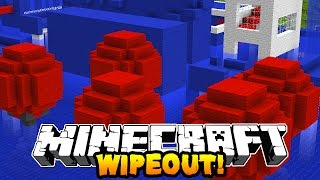 Minecraft 1v1 WIPEOUT RACE! (Mazes, Obstacale Course & Parkour!) w/PrestonPlayz & Kenny