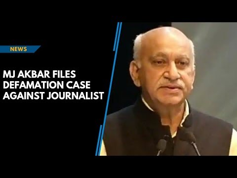 MJ Akbar files case against journalist who accused him of sexual harassment