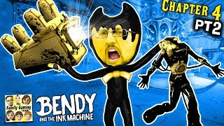 OUCH! BENDY & THE INK MACHINE CARNIVAL NIGTHMARE!  MOST INTENSE EPISODE! (FGTEEV Chapter 4 #2)