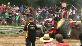Krumbach Germany  City pictures : Tractor Pulling Krumbach Germany 2012