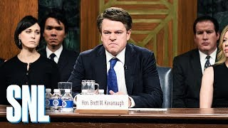 Video Kavanaugh Hearing Cold Open - SNL MP3, 3GP, MP4, WEBM, AVI, FLV Desember 2018