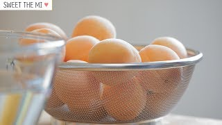 Apricot Jam!♡ Subscribe http://goo.gl/7g46xe♡Character Baking http://goo.gl/s7OR8t♡Sweet&Cute Dessert  http://goo.gl/xC7aAD♡sweet the mi Collabo http://goo.gl/yUsZwd@@Subscribe and Like always thanks !!!! @@1kg apricots, halved and stonedSugar 700 ~ 800g1 Lemon--------------------------------------------☆instagram  #  https://instagram.com/sweetthemi1★facebook # https://www.facebook.com/sweetthemi☆blog  #  http://blog.naver.com/mi__im0★twitter # https://twitter.com/mi_im0☆e-mail # mi__im0@naver.com--------------------------------------------MUSIC BY;  Wigs - Riot▷▷▷▷▷▷▷▷▷▷▷▷▷▷▷▷▷▷▷▷▷▷▷▷▷▷Camera - Panasonic LUMIX GH4,  Lenses - LUMIX G X 12-35mm F2.8 , Leica DG Macro-Elmarit 45mm F2.8 Video editing software - 소니 베가스 13.0 Sony Vegas Pro 13.0Mic - ZOOM H6, RODE NTG-2▷▷▷▷▷▷▷▷▷▷▷▷▷▷▷▷▷▷▷▷▷▷▷▷▷▷