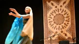رقص ایرانی توسط رقصنده اسپانیایی نوروز ۹۳  مادرید