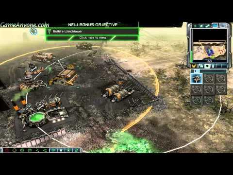 command & conquer 3 tiberium wars gameplay