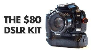 Video The $80 DSLR Kit (camera + lens) – Review MP3, 3GP, MP4, WEBM, AVI, FLV Juli 2018