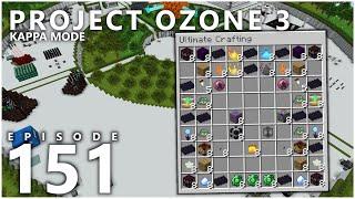 Project Ozone 3 Kappa Mode - CREATIVE ITEM OVERLOAD [E151] (Modded Minecraft Sky Block)