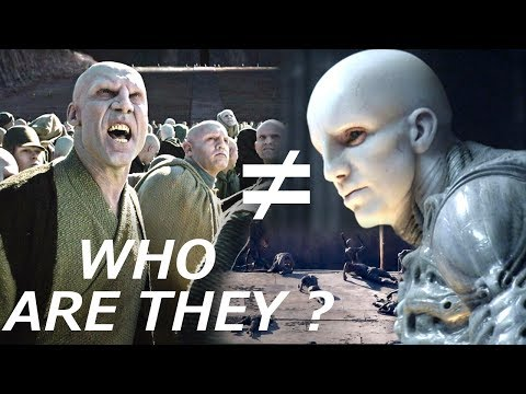 People on Paradise Are NOT Engineers - Who Are They ? - Alien Covenant