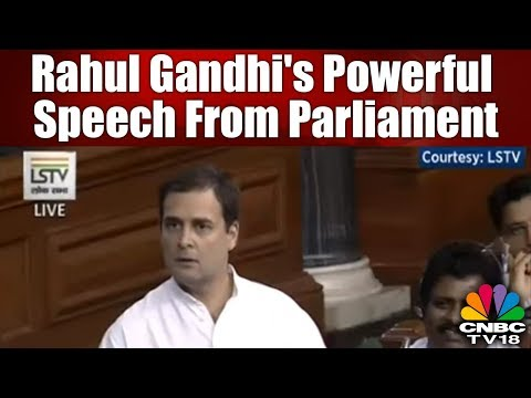 Rahul Gandhi's Most Powerful Speech From Parliament On #NoConfidenceMotion | Monsoon Session 2018
