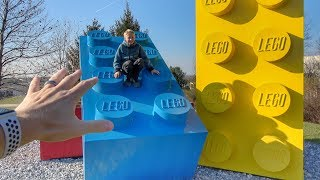 What's inside LEGO Headquarters?
