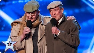 The Pensionaires prove you're never too old | Auditions Week 6 | Britain's Got Talent 2017