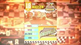 410 Knoxville Raceway Track Champ Ian Madsen