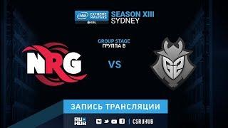 NRG vs G2 - IEM Sydney XIII - map1 - de_mirage [Enkanis, yXo]