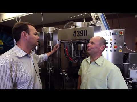 James Cluer at Road 13 Winery, Okanagan
